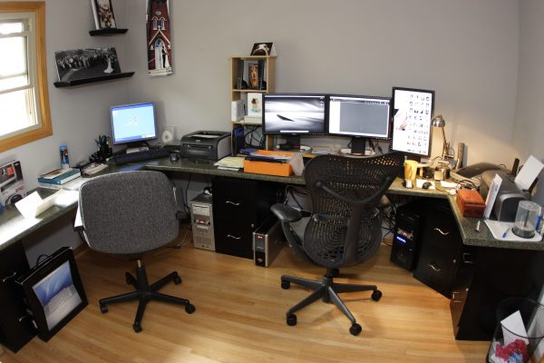 My Home Office with Mirra Task Chair in 2006
